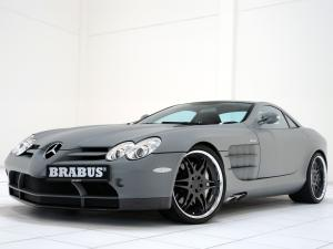 Mercedes-Benz SLR McLaren by Brabus 2004 года